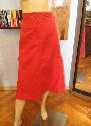 Прекрасная, натуральная юбка бренда  charles vogel р. 58