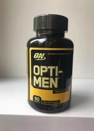 Виамины для мужчин Опти-Мен/ Optimum Nutrition Opti-Men 90 табл.