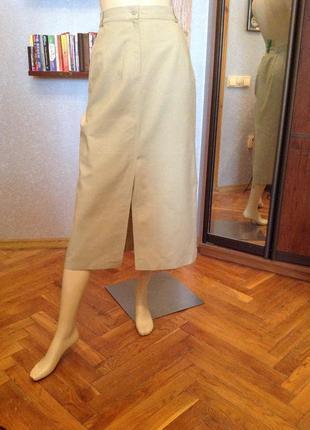 Замечательная летняя юбка, немецкого бренда emdee р. 46-48 (16...