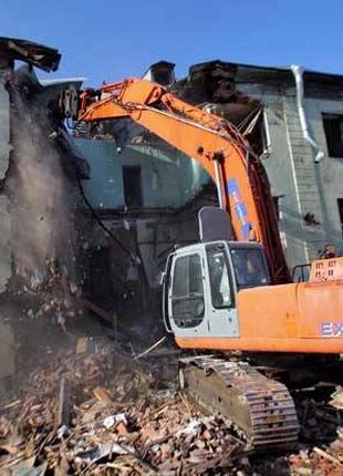 Разборка и демонтаж железобетонных сооружений!
