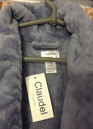 Супер теплый,мягкий халат claudel lingerie.