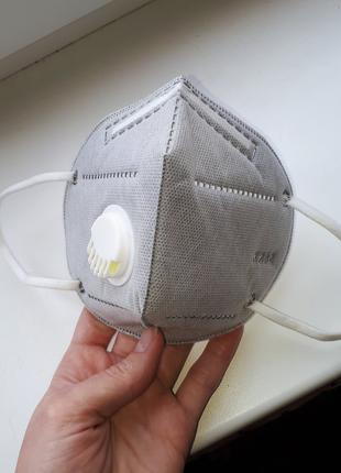 Маска-респиратор FFP2 для защиты от вируса Лужаны