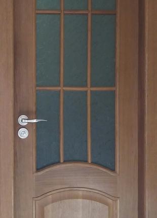 2 двери деревянных ламинированных двери