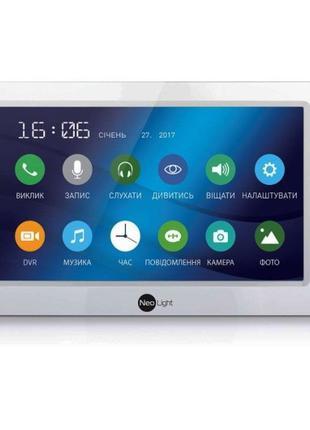 Цветной видеодомофон Neolight KAPPA+ +Вызывная панель NeoLight...