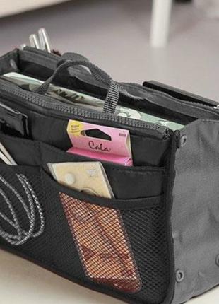 Косметичка органайзер для сумки bag in bag для косметики и акс...