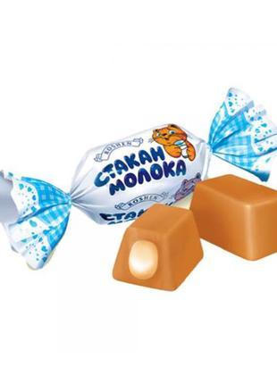 Карамельные конфеты Стакан Молока Roshen