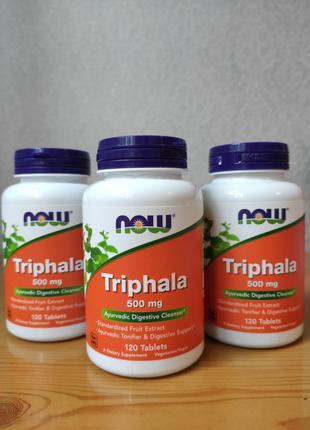 Трифала - очищение и омоложение организма, 500 мг, 120 шт