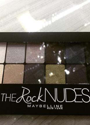 Maybelline the rock nudes eyeshadow palette