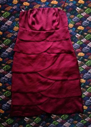 Коктельное новогоднее нарядное платье