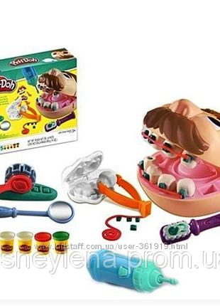 Play-Doh Doctor Drill Набор Мистер Зубастик Плей Дох