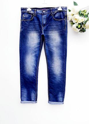 Крутые джинсы зауженые мужские штаны брюки мужские джинсы сост...