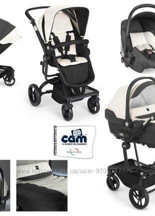 Универсальная итальянская коляска CAM taski 3 в 1