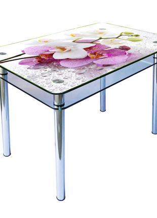 Стеклянные кухонные столы от производителя!