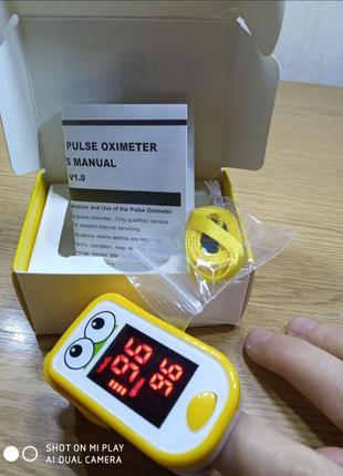 Пульсоксиметр - измеритель пульса и содержания кислорода в крови