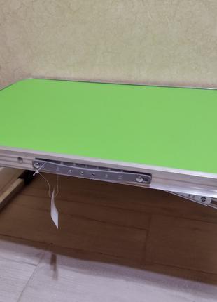 Монтажный насадочный раскладной столик стол-поднос стол складной