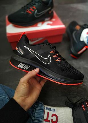 Мужские кроссовки nike air zoom pegasus ✰ черного цвета 😻