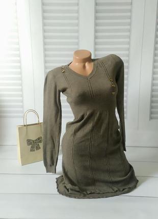 Платье тёплое, m/l