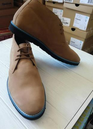 Мужские кожаные ботинки дезерты dune
