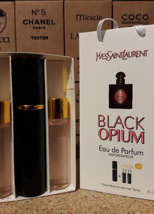 Парфюмированная вода с феромонами yves saint laurent black opi...