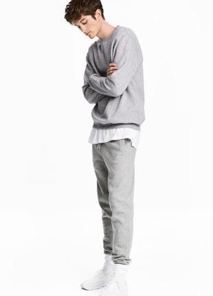 Новые мужские спортивные штаны h&m размеры s оригинал 100% отл...