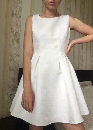 Платье asos новое белое платье