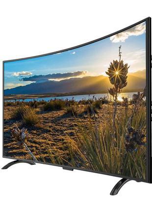 "Изогнутый LED-Телевизор Comer 32"" Smart TV+WiFi+Т2+HDMI+USB+кр..."
