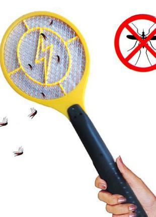 Электрическая мухобойка от мух и комаров
