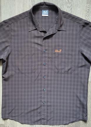 Рубашка с коротким рукавом Jack Wolfskin L
