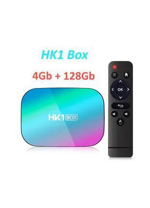 HK1 BOX 4/128GB Amlogic S905X3 TV смарт тв приставка A95X96H96X88