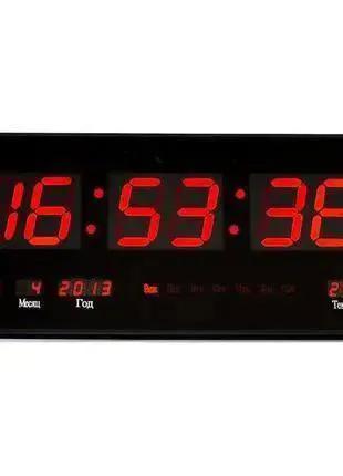 Большие настенные электронные часы 45x22см