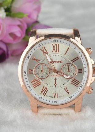 Часы женские Geneva Platinum WHITE GOLD