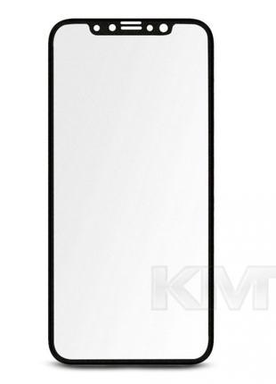 Защитное Стекло 3D Matte Antiglare — iPhone X ; XS ; 11 Pro-Blaсk