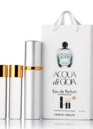 Міні-парфум з феромонами жіночий giorgio armani acqua di gioia