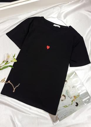 Черная футболка ❤
