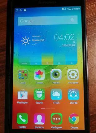 "Lenovo p70A 5"" 4G ( LTE ) 4000mah Black Европеец Android 5.1"