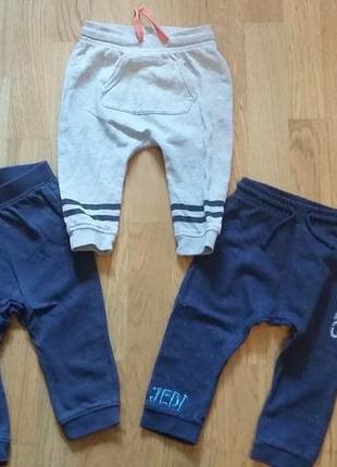 Комплект хлопковых штанишек для мальчика h&m