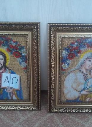 Картина-образ пара чеським бісером