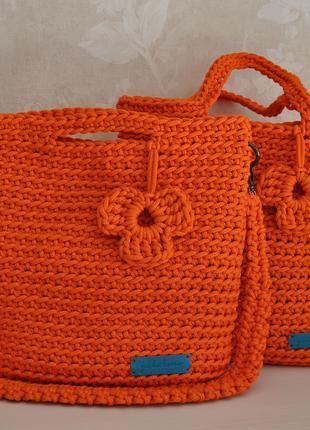 Сумка шоппер Апельсин