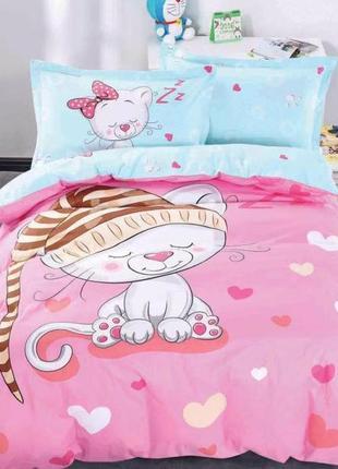 """Нежный полуторный комплект постельного белья для девочки """"мурл..."""