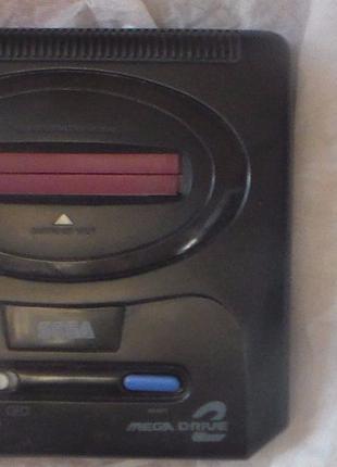 Приставка сега мега драйв 16 битная sega mega drive 2 игровая ...