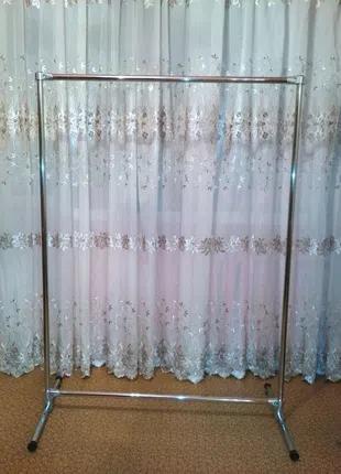 Вешалка стойка для одежды металлическая разборная
