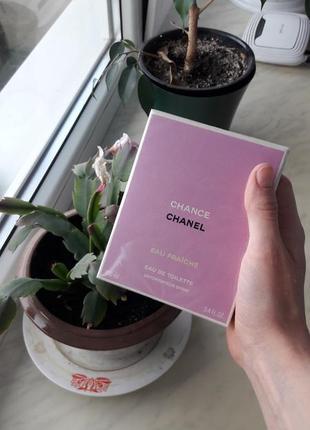 Chanel chance eau fraiche оригинал новый