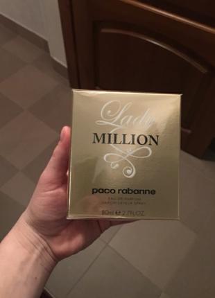 Paco rabanne lady million оригинал новый