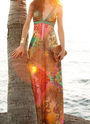 Обалденное нарядное платье из журнала burda