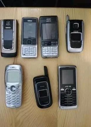 Телефоны Samsung SGH-N500, Nokia 6555, 6101, 2366і, Cricket A100