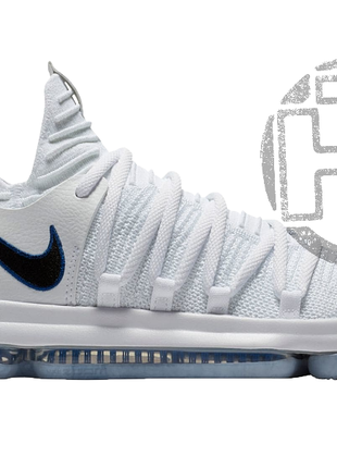 Мужские кроссовки Nike Zoom KD 10 X White/Game Royal 897815-101
