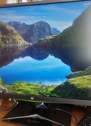 """Игровой монитор ViewSonic XG2703-GS (27"""" WQHD IPS 165Hz/350kd/..."""