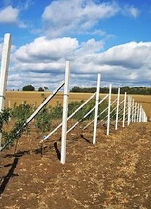 Бетонные столбики для садов, огородов, оград