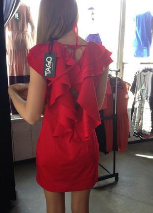 Красное платье tago идеально для выпускного вечера
