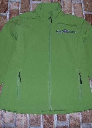 Кофта куртка софтшелл softshell теплая на замке 14 лет